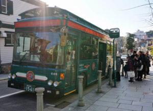Bus in Kobe, Japan