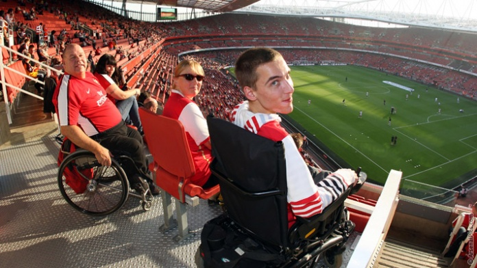 Emirates stadium wheelchair access