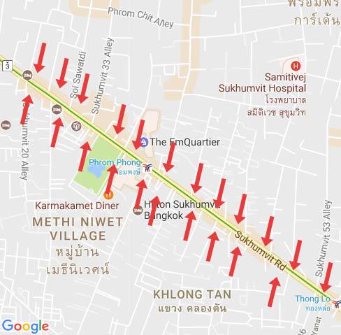 กรุงเทพฯ ไม่ว่าใครก็ต้องวิ่งออกถนนสายหลัก